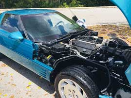 1993 corvette  Anniversary edition for sale