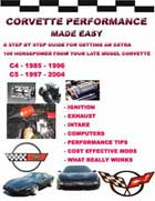 corvette performance manual