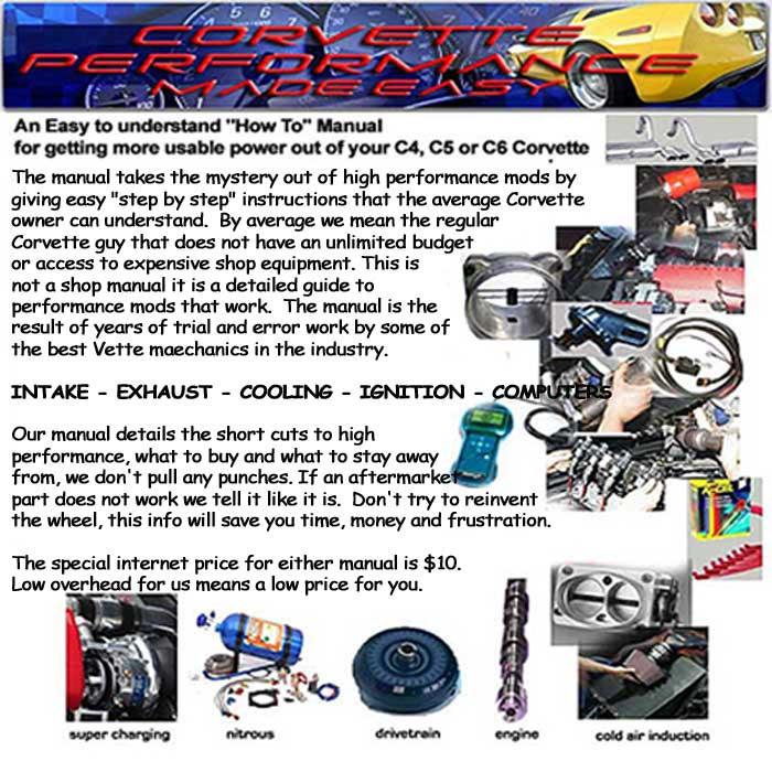 corvette performance modifications upgrades