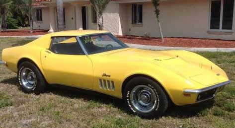 1969 corvette big block for sale