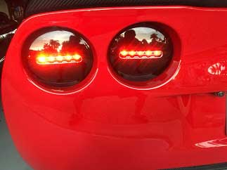 black onyx led tail lights