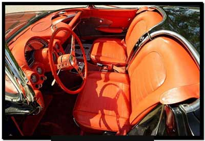 1958 fuel injected corvette for sale