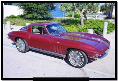 1966 Corvette coupe for sale