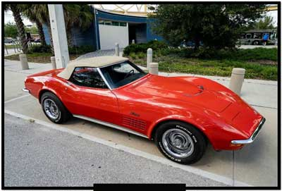 1970 big block corvette for sale